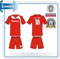 Subsc-129 design personalizado camisas de futebol uniformes