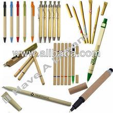 Recycled Paper Pen ECO Pen Promotional Biodegradable Ballpoint Pen Multifunction Pen Stylus Pen