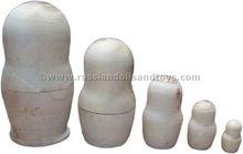 Buy Nesting dolls | Blank Stacking dolls by russiandollsandtoys.com