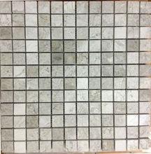 Silver Polished Mosaic 2,3 X 2,5 Mosaic Tiles Turkish Mosaics For Interior Walls Marble Mosaics Travertine Tiles Emperedor