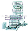 SJ-GS Series 3-5 Layers Coextrusion Film Blowing Machine Set(IBC Film Tube Inner Cooling System)