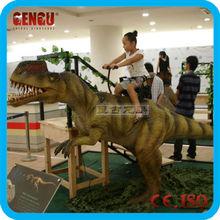Theme park animatronic dinosaur carnival rides manufacturer