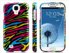 Colorful Striped Plastic Case for Samsung Galaxy S4 I9500