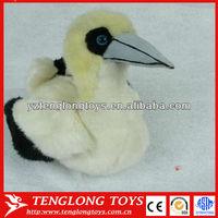 Scarce and Stuffed sea animal plush sea bird with long mouse