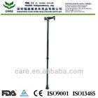 CARE--Portable aluminum adjustable cane brass walking stick handles
