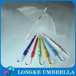 [SP031] Color transparent umbrella/umbrella plastic transparent