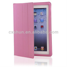 Magnetic Smart Slim Full Body Cover for Apple iPad mini Pink