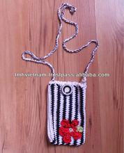 Cotton Yarn Handmade Crochet cell phone bags