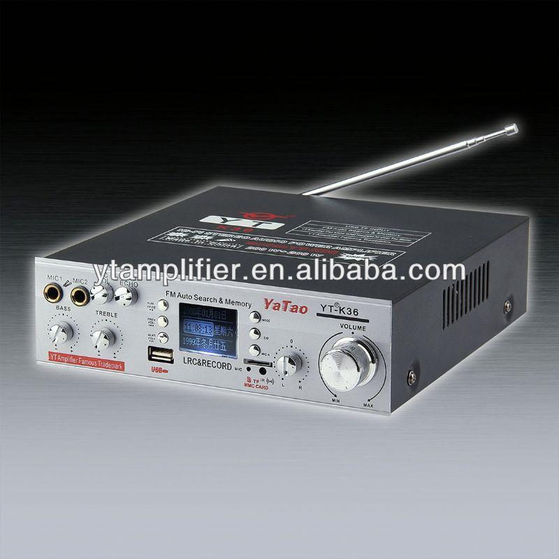 sound power pro amplifier YT-K36 support karaoke!!! HOT
