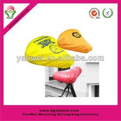pvc waterproof CMYK bike cover/PVC bike seat cover/saddle cover