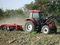Grande ferme 100 ch tracteur avec chargeur frontal 4wd wg1642440082 charrue pour l'afrique