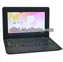 10.1 inch Cortex A9 1.2Ghz processor WIFI Webcam HDMI Flash10.2 VIA8850 netbook android 4.0 mini pc 10 inch used mini laptop