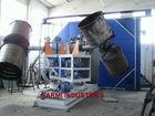 Three Arm Bi-Axial RotoMoulding Machine
