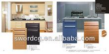 Imitation wood grain varnish cabinet doors