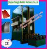 rubber compression molding press/ hot sale big size frame press/ rubber mat rubber machine