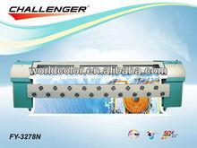Infiniti/Challenger Solvent Digital Printer FY-3278N, High Speed Printer