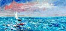 navi a vela dipinti
