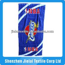 100% cotton full printed basketball beach towel