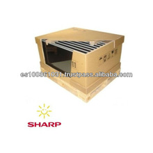 Amorphous thin film solar panel 128w from Sharp Solar