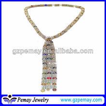 Fashion colorful beaded jewlery making