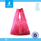 Folding recycled polyester bag