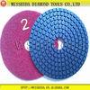 Flexible 3 Step Wet Diamond Abrasive Pad