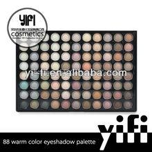 Wholesale! 88 warm color eyeshadow palette makeup accessories