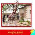 la simulación de alta vida tamaño de la jirafa