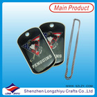 Titanium Dog Tag Necklace hang tags for kids clothing