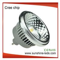 3 year warranty CRI>80%,CE,RoHS 3000k led ar111