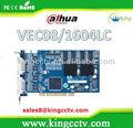 dahua 8 canal dvr hdmi de vídeo placa de captura vec0804lc