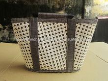 Craft bamboo lattice knitting bag 2013