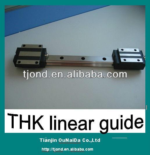 japón original shs15 thk lineal de carril de guía y bloque de la diapositiva