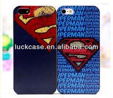 2013 New arrival superhero series PC phone case for Apple 5G/5S
