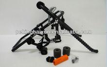 easy fit carbon steel trunk bike rack