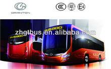 GTZ6128BEVB 12m hot passenger bus electric city bus