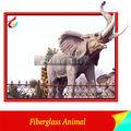yüksek emulational fiberglas hayvanlar yaşam boyutu fil