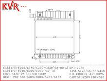 Generador radiador para W202 C180 200 220 230 93 00 With OEM 2205000003 0103