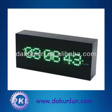 Custom metal box with black coating for LED digit clock