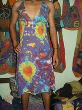 khadder dress with tie die