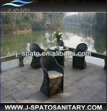 2014 Hang Zhou New Wicker 5PC Rattan Outddor Dinning Furniture