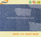 100% cotton fashion jacquard denim fabric for jeans