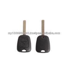 High quality Citroen key shell 2 button remote key blank& key shell VA2 (without logo)