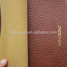 dye pu synthetic leather