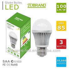 china supplier High brightness frost cover led pl light bulb g24
