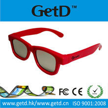 Designer master image 3d eyewear use in All pasive cinema like RealD Masterimage GETD