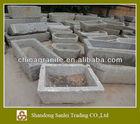 square stone trough