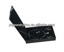 Leather fancy cheap jewelry box lock hardware