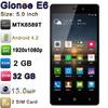 "Gionee E6 with 5.0"" MTK6589T Quad Core Android 4.2 1920x1080p 32GB ROM 2GB RAM 5.0MP 13.0MP Camera Mobile Phone Gionee E6"