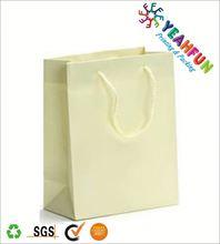 Low price printed luxury paper shopping bag